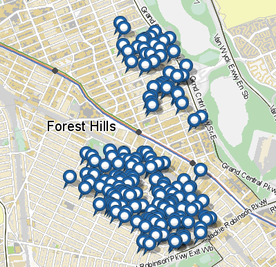 Homes sold for over $1 million in Forest Hills
