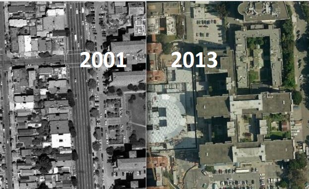5 Striking San Francisco Satellite Images Show 12 Years' Worth of Development