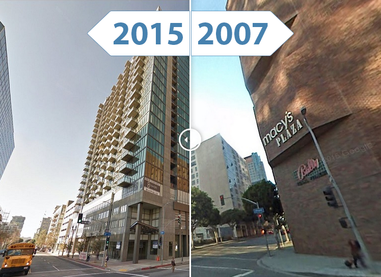 Los Angeles' Skyline Sees Impressive Changes (2007 and Now)