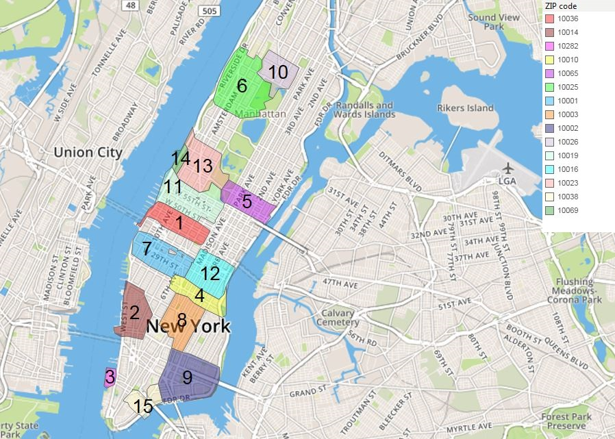 Manhattan Least Renter Friendly, Home to 15 of the Priciest ZIP Codes in the U.S.